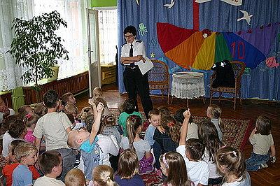 Spotkanie W Przedszkolu Wiadomości Komenda Powiatowa